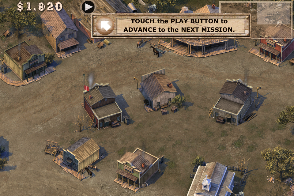 Screenshot Cowboys & Aliens – Silver City Defense